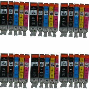 Cartucce Per Canon per Pixma MG 5450,5550,5650,6350,6450,6650,7150,7550,IP 7250