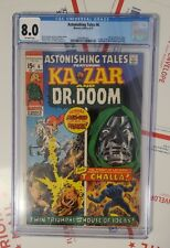 Astonishing Tales 6 💥 FIRST Dr DOOM VS Black Panther 8.0 VF CGC BP2 Wakanda MCU