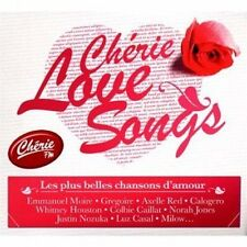 CHERIE Love songs Emmanuel Moire, Grégoire, axelle red, Christina MAROC... [2 CD]