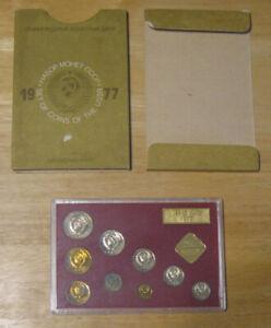 Russia - 1977 Mint Set 9 Coins - Original