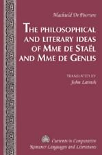 THE PHILOSOPHICAL AND LITERARY IDEAS OF MME DE ST - NEW HARDCOVER BOOK