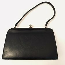 8ef350726d47 Vintage Theodor California Black Clutch Purse Evening Bag 1950 s - 1960 s