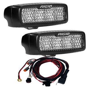 Rigid Industries SR-Q Series PRO Back Up LED Light Kit Diffused Lens Pair 980023