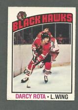1976-77 OPC O-Pee-Chee Hockey Darcy Rota #47 Chicago Black Hawks *1