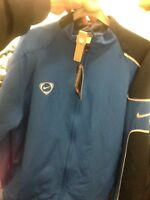 NIKE TRACKSUIT TOP IN  38/40INCH blue  COTTON  team AT £18 BNWL