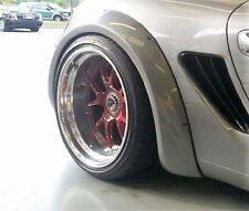 Porsche 987 Boxster Cayman 3 inch Rear Flares set bolt on New !!!