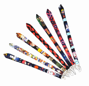 Naruto Lanyards Neck strap Keychain ID Badge Phone Holder  Styles Available