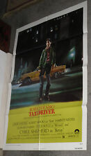 TAXI DRIVER original 1976 27x41 one sheet movie poster ROBERT DE NIRO