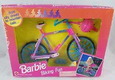 NEW Barbie *Biking Fun* Bicycle with Helmet 1995