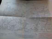 England Antique Europe Ordnance Survey Maps