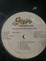 "Augustus ""Gussie"" Clarke-Black Foundation Dub-Various Artists-Vinyl LP 1977"