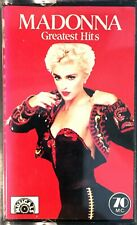 JAPAN CASSETTE AUDIO ALBUM MADONNA GREATEST HITS NUMBERED N° 608 MUSICALS LABEL