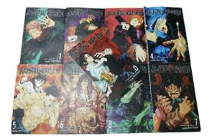 New Jujutsu Kaisen Gege Akutami Manga Volume 0-10 English Comic Free gift