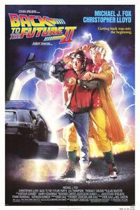 Movie Postcard - Back To The Future II - Michael J Fox 1989 - A6 NEW