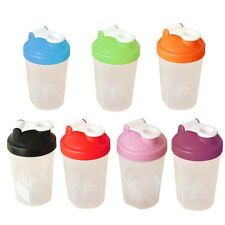 400ML Protein Shake Drink Mixing Shaker Cup Blender Mixer Diet Cup