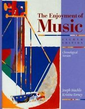The Enjoyment of Music: An Introduction to Perceptive Listening-ExLibrary