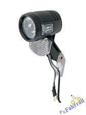 AXA Fahrrad Scheinwerfer Blueline 30 Switch für Nabendynamo 30 Lux mit Schalter
