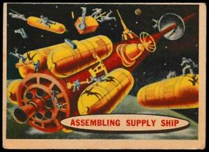 A&BC - 'Space Cards' - Card #54 - Assembling Supply Ship