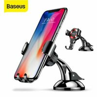 Baseus Gravity Car Phone Holder Stand Dashboard Mount for iPhone 11 Samsung S9