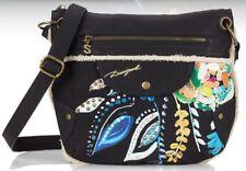 Women's Embroidery Desigual Faux Leather hand bag/shoulder bag/Satchel bag