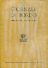 GIORNALE DI BORDO MENSILE DI STORIA LETTERATURA ED ARTE ANNO II N. 3-4 1968-69