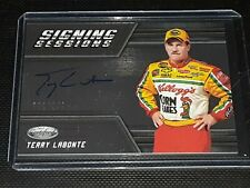 2018 Certified Racing Terry Labonte SILVER *Signing* Autograph Card #/149!!
