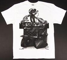 POPEYE The Sailor Man DJ Mixing T-shirt Comics Animated Cartoon Tee Adult LARGE