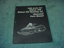 Arctic Cat 1990 Parts Manual Wildcat 650 & Mountain Cat Snowmobile Oem #220