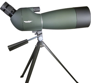 RangeHAWK Target Shooting / Hunting Spotting Scope 25-75x70 w/ Tripod under $200