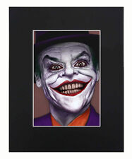 Joker 8x10 matted Art Print Printed Poster Decor picture Gift Photograph Display