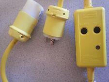 Hubbell GFP3C20MTL 125V 20A twist lock circuit guard