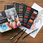 72 Premium Colored Pencil Set for Adult coloring Book Soft Core Drawing Pencils