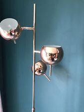 made.com Rose Gold Floor Lamp