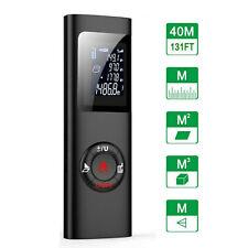 40M Portable Mini Digital Handheld Laser Distance Meter Range finder Measuring