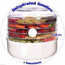 Food Dehydrator Cookbook 19 Books CD Bible Recipes Excalibur Ronco nesco Jerky
