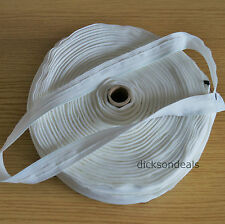 Roman Blind Tape 10m Metres 100% Polyester 19mm wide - Off White Colour