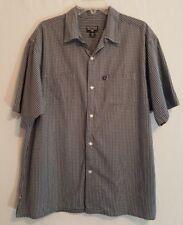 Polo Jeans Co Ralph Lauren Green Striped Button Down Mens Shirt Size Large