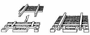 Fleischmann 22215 N Schwellenendstück für Flexgleis 24 Stück  NEU OVP: