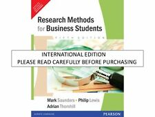 Research Methods For Business Students, 5th ed. by Mark N.K. Saunders & Prentice