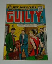 JUSTICE TRAPS the GUILTY # 88 PRIZE COMICS August 1957 ALL NEW POLICE STORIES