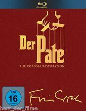 DER PATE 1-3, The Coppola Restoration (4 Blu-ray Discs) NEU+OVP