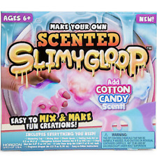 Scented Cotton Candy SlimyGloop Slime Kids Craft Kit Toy Goop Maker