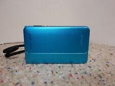 SONY CYBERSHOT DSC-TX10 | TEAL BLUE | CAMERA + 32gb SD Card