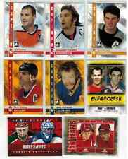 LOT OF (15) IN THE GAME ITG INSERT CARDS CAPTAIN C ENFORCERS II OVECHKIN JAGR ++