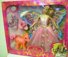 #1632 NRFB Gal's Dream Butterfly Fairy Fashion Doll with Fake My Little Pony