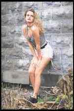 181036 Andrea Shorts A4 Photo Print