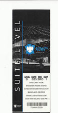 2013 SWEDISH HOUSE MAFIA BARCLAYS CENTER SUITE LEVEL TICKET STUB 3/3/13