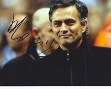 JOSE MOURINHO firmato 10x8 immagine una foto UACC Chelsea REAL MADRID INTER