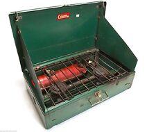 COLEMAN 1950s-1960s 2 Burner Stove Model 413E Vintage!