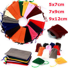 Small Velvet Cloth Drawstring Bags Gift Bag Jewelry Ring Pouch Wedding Favors